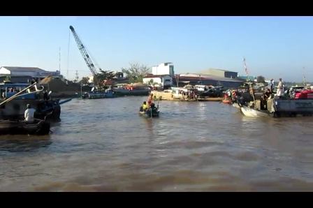 Cairang floating market - Vietnam