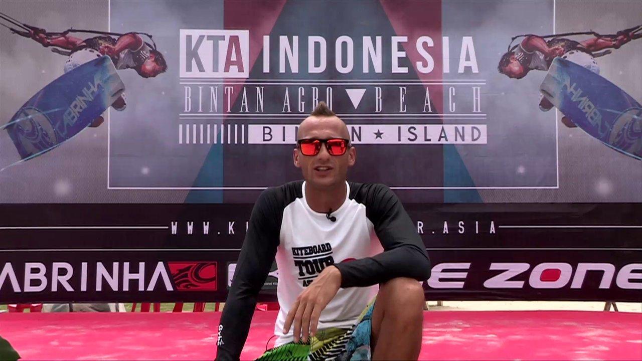 KTA Bintan - Indonesia - Day 1 (kiteboarding Asia Championship tour 2013)