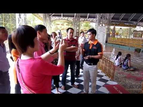 Chùa Phật Nằm - Bago - Du lich Myanmar