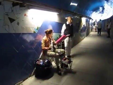 Cinque Terre... Music in the Tunnel
