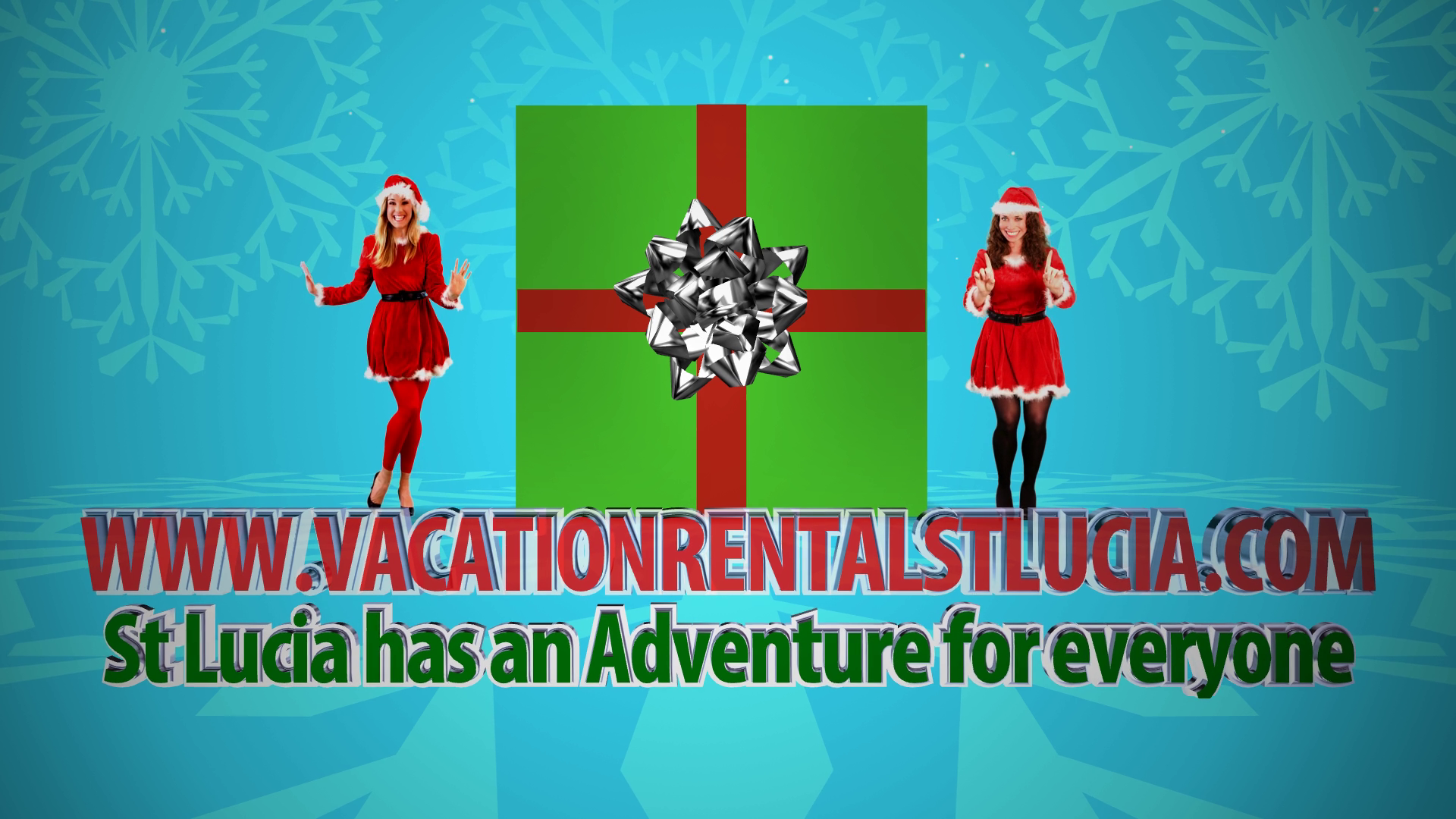 Happy Holidays From Vacation Rental St Lucia