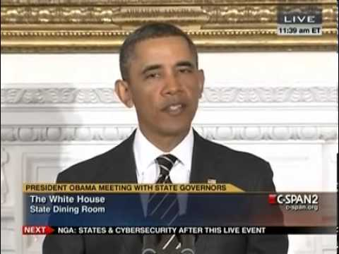 Most Transparent President In History Removes Press To Take Q&A From Governors