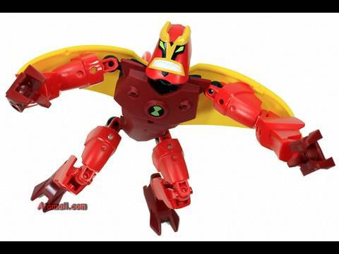 LEGO Ben 10 Jet Ray Toys Action Figure Review