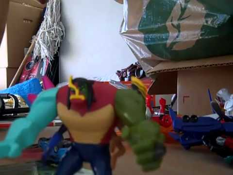 Ben 10 ultimate alien toy action figure toy review