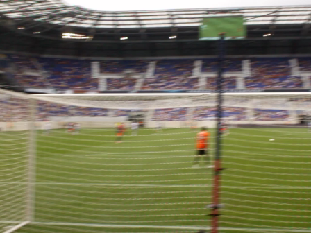 First Goal by Montpellier