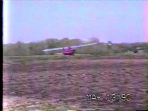 First Solo after CFI Sign Off May 13, 1990