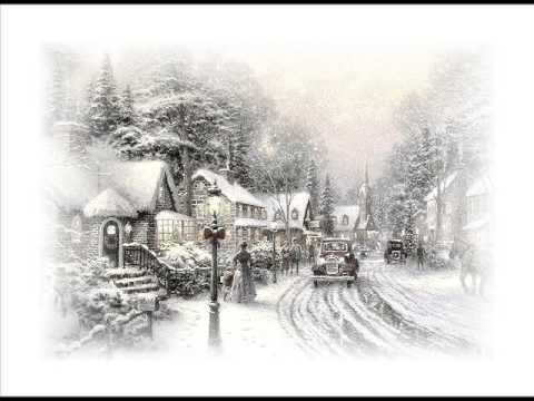 White Christmas -Christmas card (with lyrics)