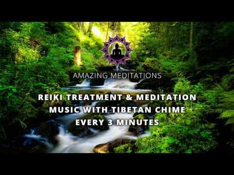 The Heart Of Reiki with Tibetan Chime Every 3 Mins