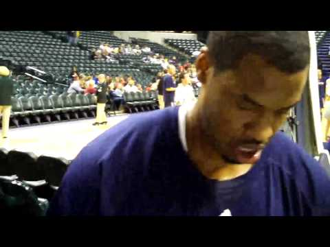 Jason Collins Signing Autographs in Indianapolis