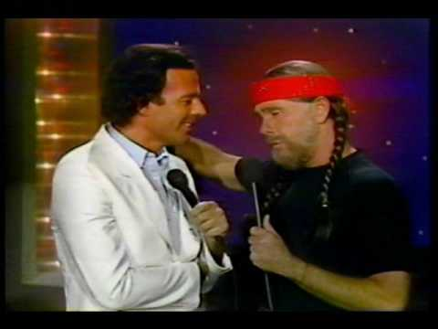 """Julio Iglesias & Johnny Carson - """"To All The Girls I' ve Loved Before""""  1984"""