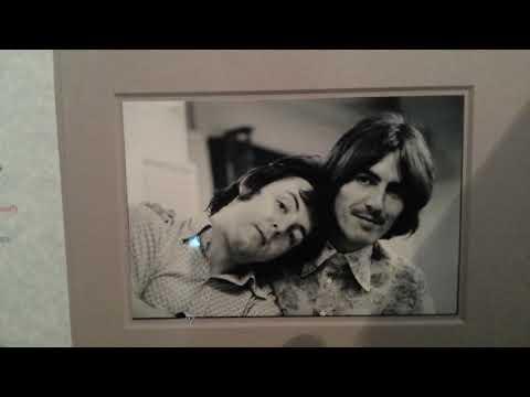 George Harrison Autograph - Beatles Memorabilia Collection