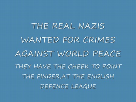 THE REAL NAZIS...
