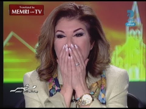 Jubilation in Egyptian TV Studios following Morsi's Ouster