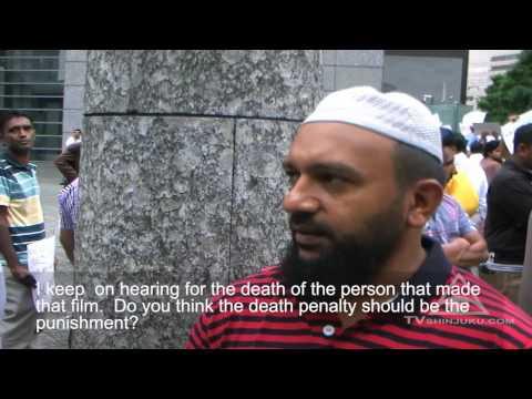 Japan: Muslim demo against free speech