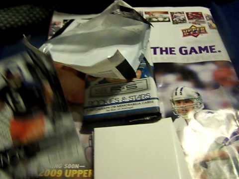Local Card shop pickup plus 2 pack break of new 09 panini rookies and stars SICK CARD PULLED!