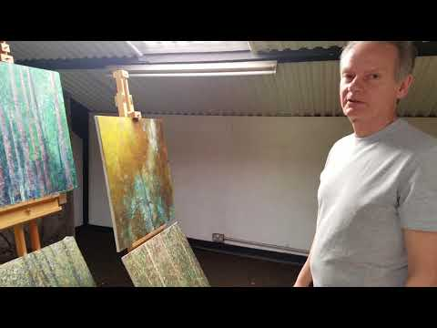 Peter Corr gives New Forest Artist Studio Tour