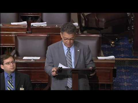 Mandatory Arbitration:  Sen. Franken on Constitutionality of His Amendment