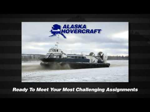Alaska Hovercraft - Subzero temperatures. No roads. No excuses.
