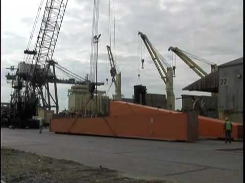 Martin Bencher moves huge cranes