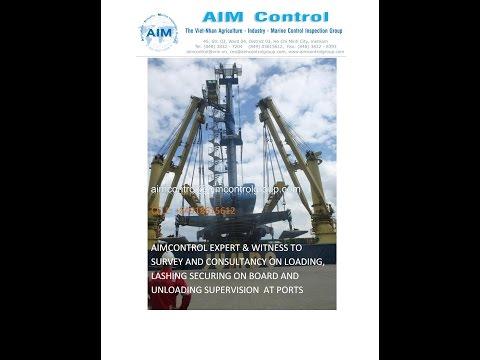 Marine Surveyors Cargo Inspection Controller Company in Vietnam / Global