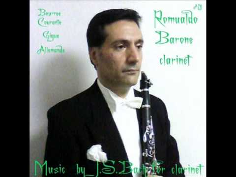 Music by J S BACH  AUDIO CLIP  New  Album  Download Mp3   clarinet  solo