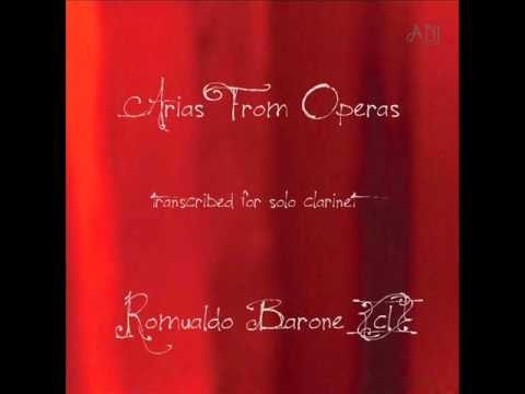 Audio Clip  Arias From Operas  for  solo clarinet