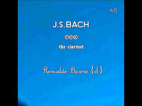 Album Preview J.S.BACH for the clarinet