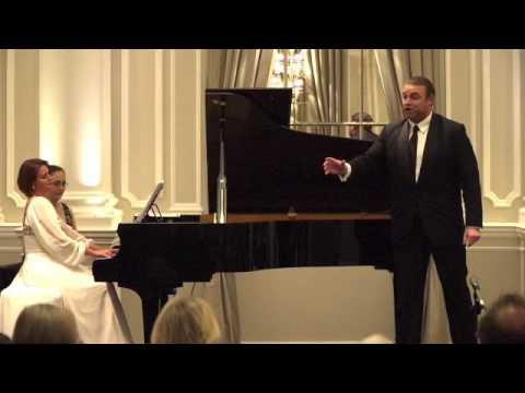 Joseph Calleja & Vicky Yannoula perform Tosti's A Vucchella