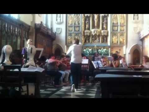 Credo- London Arte Chamber Orchestra Rehearsal