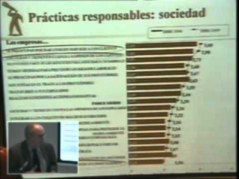 (1ª Parte) ERSE Observatorio de Ética y RSE, Comunidad Valenciana, 2009.