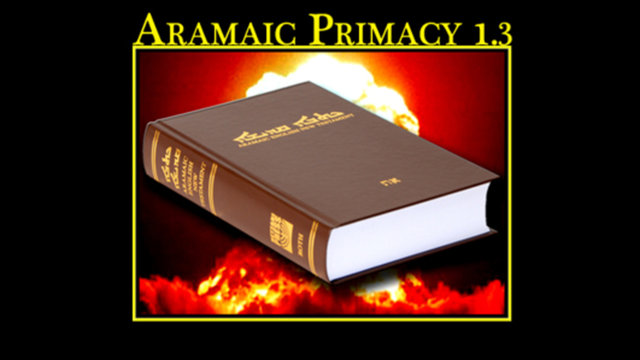 Aramaic Primacy.3