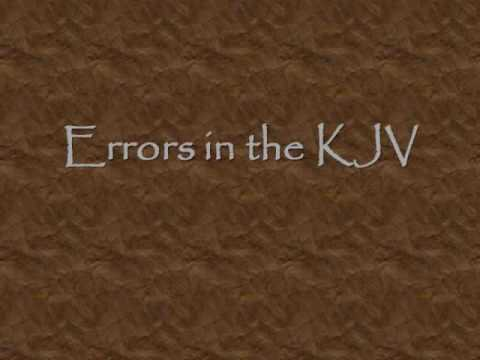 Errors in the King James Version