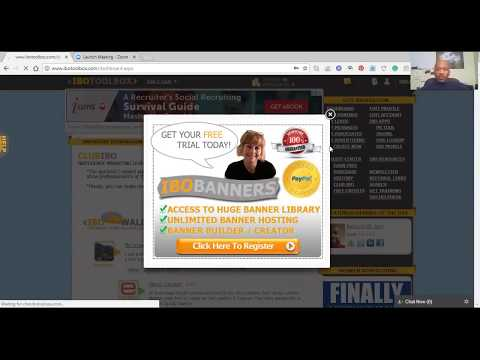 How to search IBOToolbox for leads