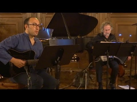 Filippo Cosentino - William Lenihan & Sogni d'Alba Strings trio - Jazz at Holmes