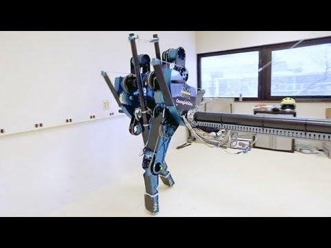TRANSLOGIC 98: MABEL Bi-Pedal Walking Robot