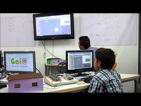 Taller de Programación y Domótica para niños