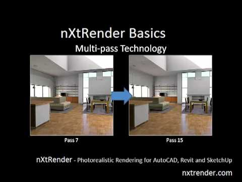 Mutli Pass Rendering Technology with nXtRender