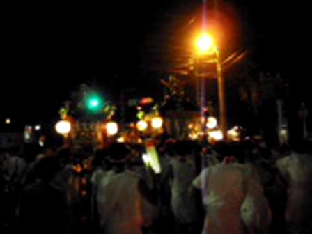 城山・川尻八幡宮祭2011年夏<神輿>