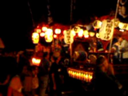 城山・川尻八幡宮祭2011年夏<お囃子>