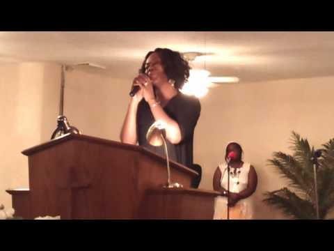Evangelist Carla Martin @ The 2011 Youth Explosion