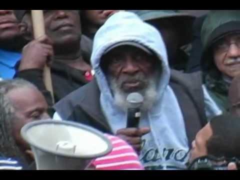 Trayvon Martin - Dick Gregory Speaks-NO Justice NO Peace, Washington DC 7