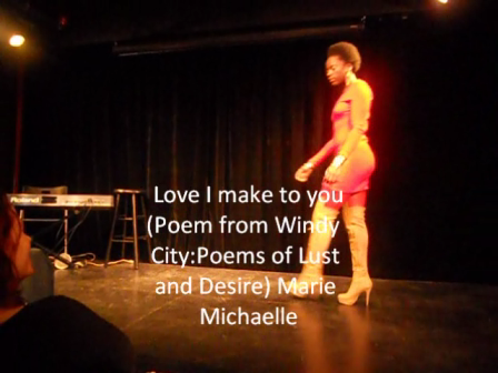 Check Out Poetress Marie Michaelle
