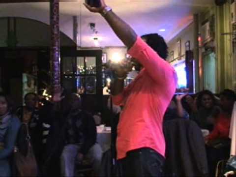 Reggae Artist Mr. Glamorous Blesses the Mic Live