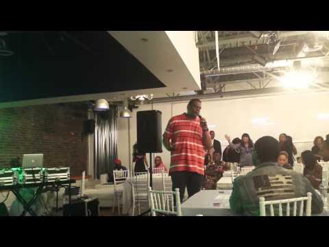 Kory O @Bless the mic/elyon event