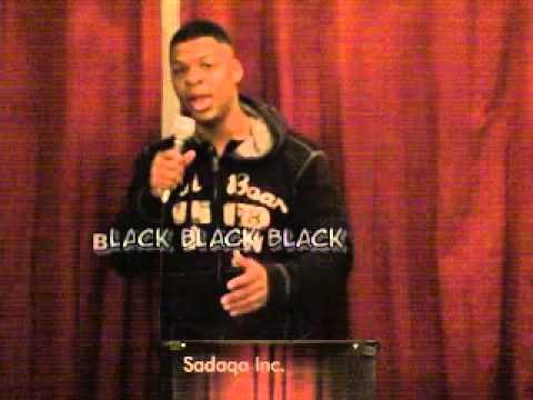 Spoken Word Poet Konscious Blesses The Mic! Black on Black