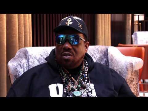 Hip-Hop Founder Afrika Bambaataa talking to I Am Hip-Hop Magazine