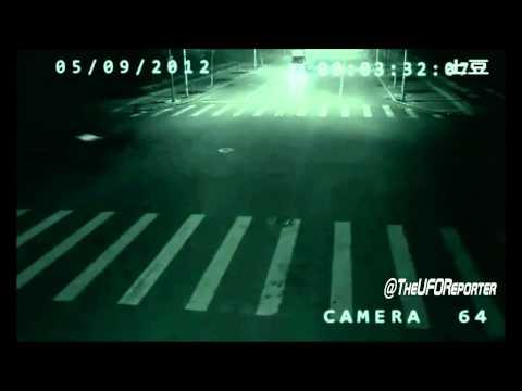 CCTV camera captured Teleportation in China - September 2012