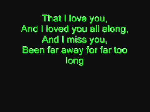 Far Away- Nickelback Lyrics