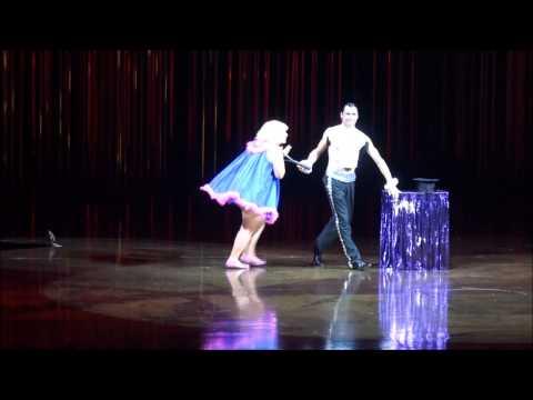 "Mercedes Lía Hernández (Clown Magic Act) ""Varekai""  - Cirque Du Soleil -"