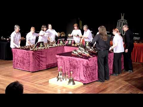 Ecclesfield Handbell Ringers at the National Rally York 2012